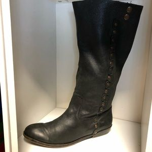 Nine West Leather Boots comfortable soft leather